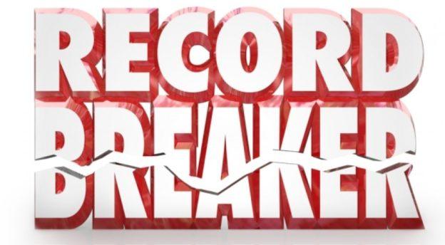 8 New Records/CBPs Set